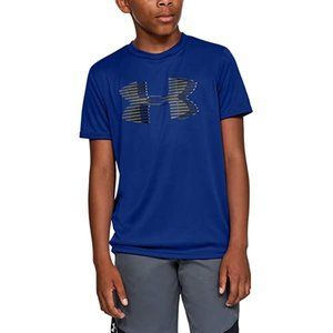 Under Armour Boys TECH Logo YOUTH LARGE T-Shirt YL